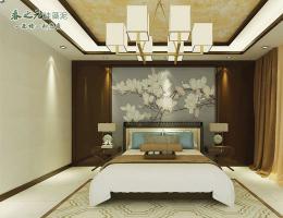 中式卧室 ZGF074