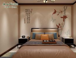 中式卧室-ZGF043