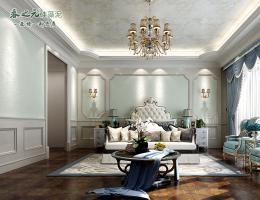 欧式卧室-喷涂-珠光幻彩