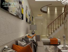 现代客厅-美幻-流沙洞石