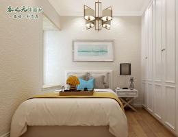 现代卧室-喷涂