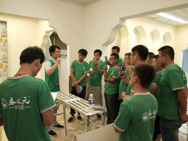 春之元商学院服务的力量第一场技师做有效指导、学员进步神速
