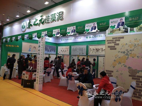 春之元硅藻泥引爆武汉华夏家博会,开展惠民活动