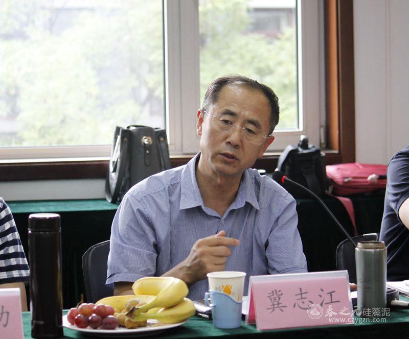 中国生态建材分会常务副理事长冀志江