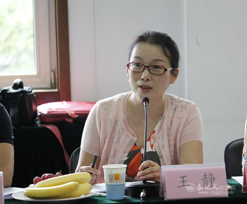中国生态建材分会秘书长王静
