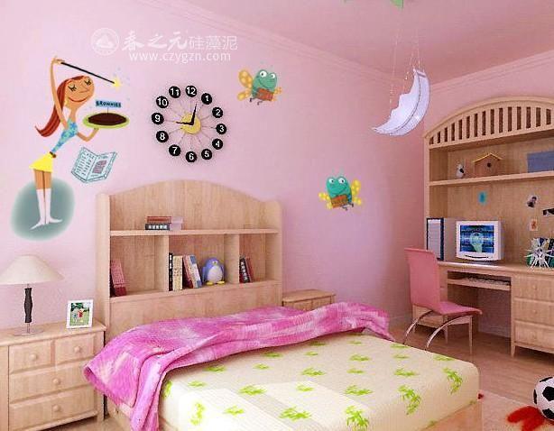 儿童房装修没想法?那是你没碰见春之元硅藻泥!