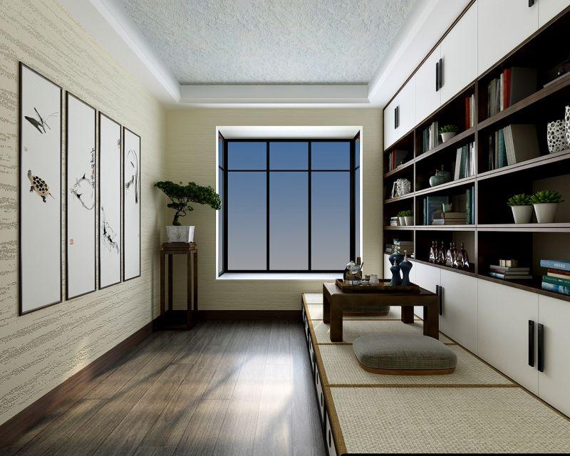 贵州普定-新中式-书房